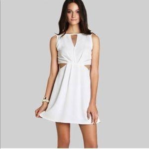 Only worn once white BCBG dress